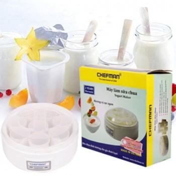 Máy làm sữa chua chefman 16 cốc-Thế giới đồ gia dụng HMD