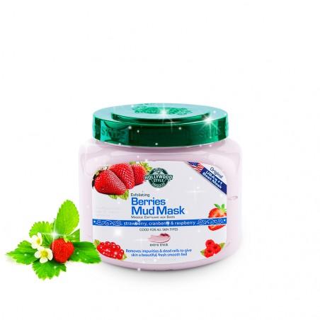 Mặt nạ bùn làm sạch sâu (Exfoliating Berries Mud Mask)-Thế giới
