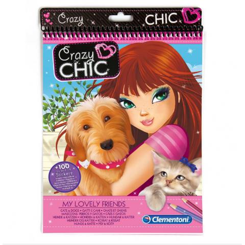 Bộ thiết kế Crazy Chic Cats & Dogs-Thế giới đồ gia dụng HMD