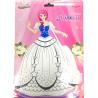 Bong bóng tô màu trang trí hình công chúa- Christina