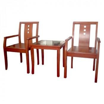 Bộ bàn ghế khách sạn BKS02, GKS02-Thế giới đồ gia dụng HMD