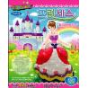 Bong bóng gắn đất sét trang trí hình công chúa - Olivia