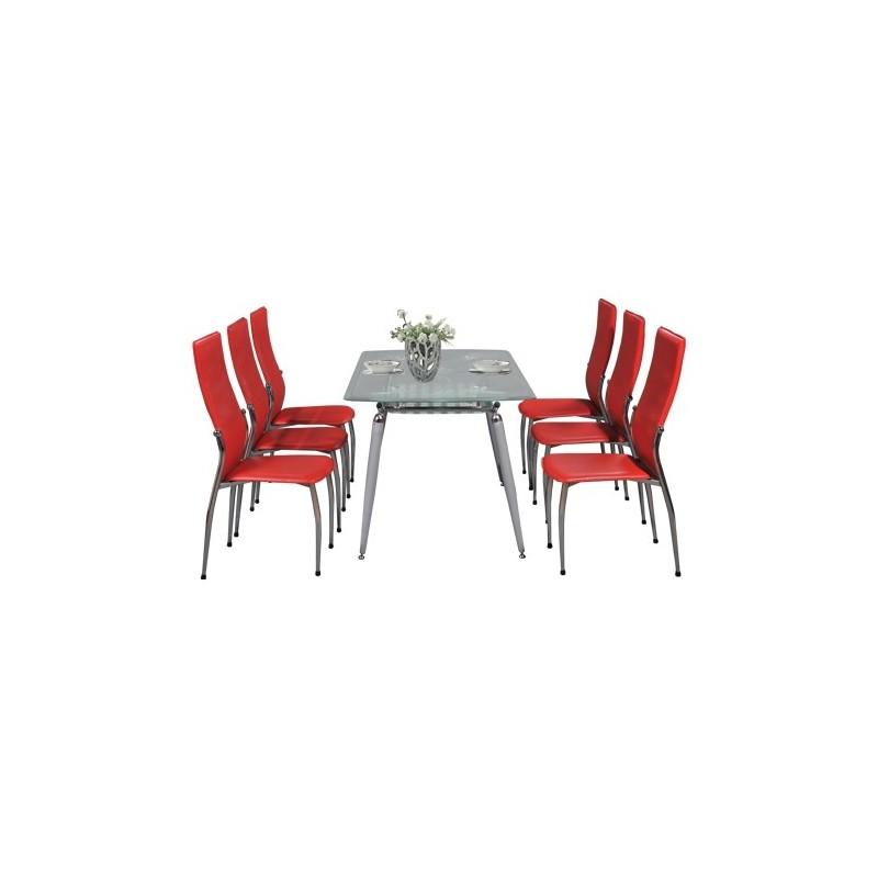 Bộ bàn ghế ăn B58, G58-Thế giới đồ gia dụng HMD