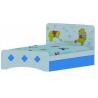 Giường đơn trẻ em Gấu Pooh xanh-Thế giới đồ gia dụng HMD