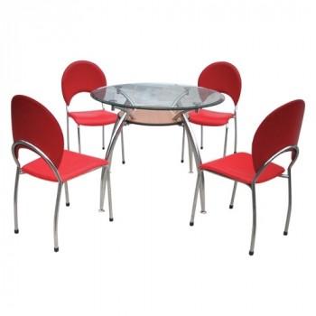 Bộ bàn ghế ăn B53, G53-Thế giới đồ gia dụng HMD