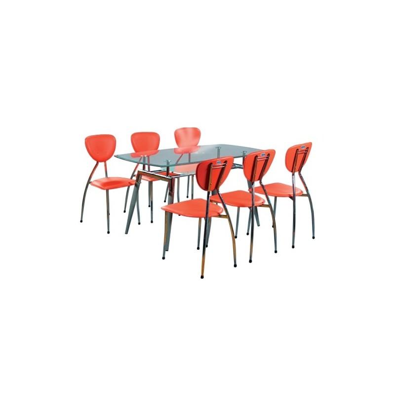 Bộ bàn ghế ăn cao cấp B52, G52-Thế giới đồ gia dụng HMD