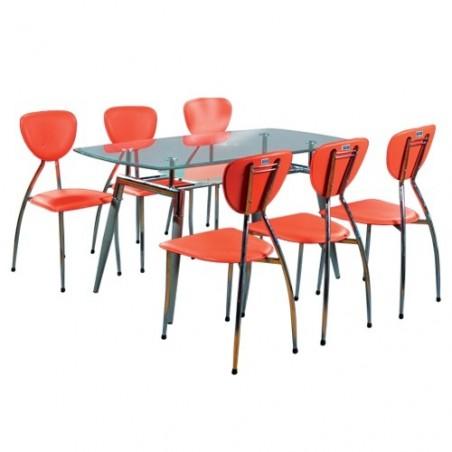 Bộ bàn ghế ăn cao cấp B52, G52