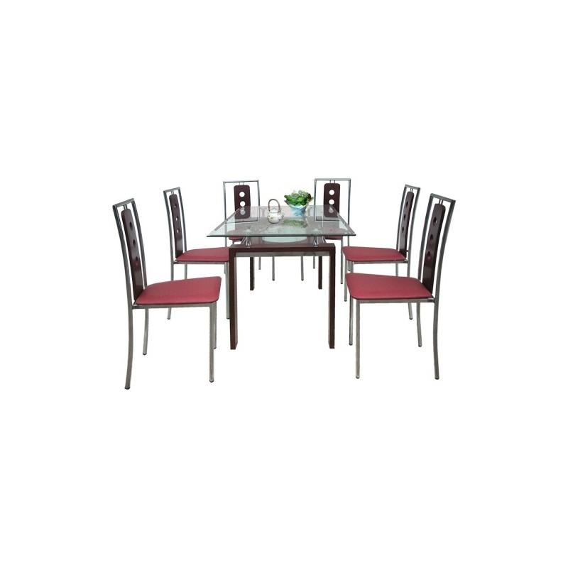 Bộ bàn ghế ăn B51, G51-Thế giới đồ gia dụng HMD
