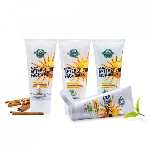 Bộ sản phẩm phục hồi và bảo vệ da ( De-tan After Sun Systems