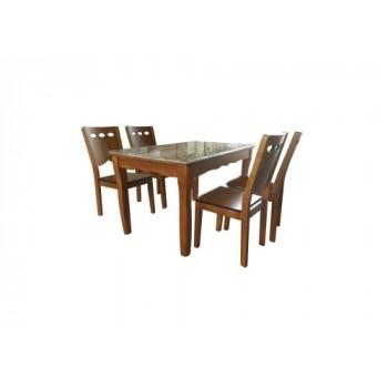 Bộ bàn ghế ăn BA131, GA131-Thế giới đồ gia dụng HMD
