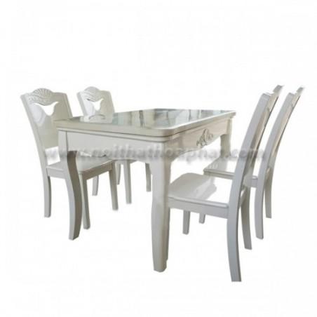 Bộ bàn ghế ăn BA129, GA129