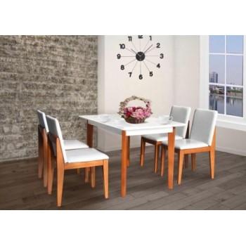 Bộ bàn ghế ăn HGB62B, HGG62-Thế giới đồ gia dụng HMD
