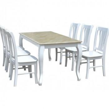 Bộ bàn ghế ăn HGB61, HGG61-Thế giới đồ gia dụng HMD