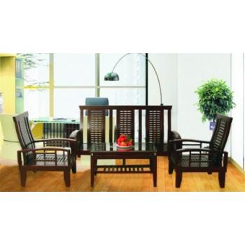 Bộ sofa gỗ tự nhiên SF70-Thế giới đồ gia dụng HMD