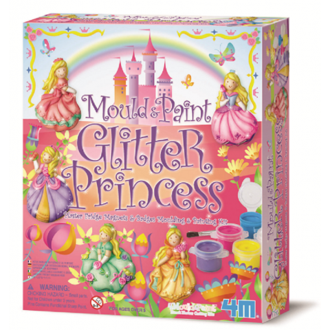 Đồ trang trí lấp lánh khuôn - Hình công chúa-Thế giới đồ gia