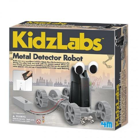 Đồ chơi khoa học - Robot truy tìm kim loại-Thế giới đồ gia