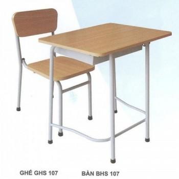 Bộ bàn ghế học sinh BHS107HP-Thế giới đồ gia dụng HMD