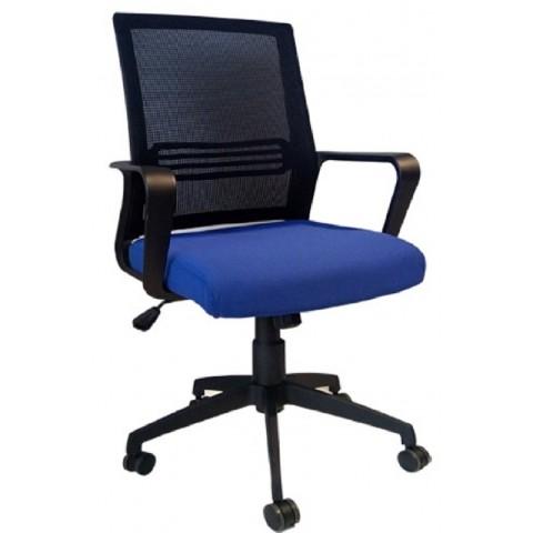 Ghế lưới văn phòng B611 xanh-Thế giới đồ gia dụng HMD
