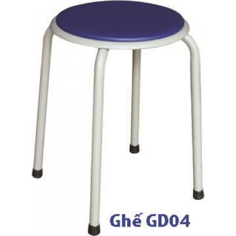 Ghế đôn Hòa phát GD04-Thế giới đồ gia dụng HMD
