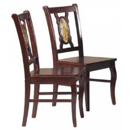 Ghế ăn gỗ tự nhiên Hòa phát TGA21