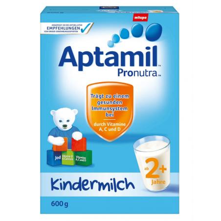 Sữa bột Aptamil cho trẻ từ 2 tuổi