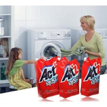 Nước giặt túi ACTZ cửa ngang 2L-Thế giới đồ gia dụng HMD