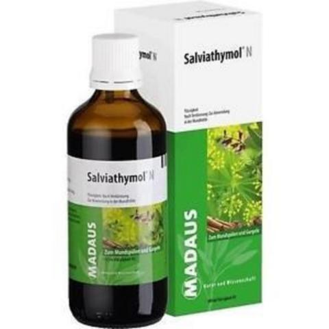 Thuốc sát khuẩn miệng và vòm họng Salviathymol-Thế giới