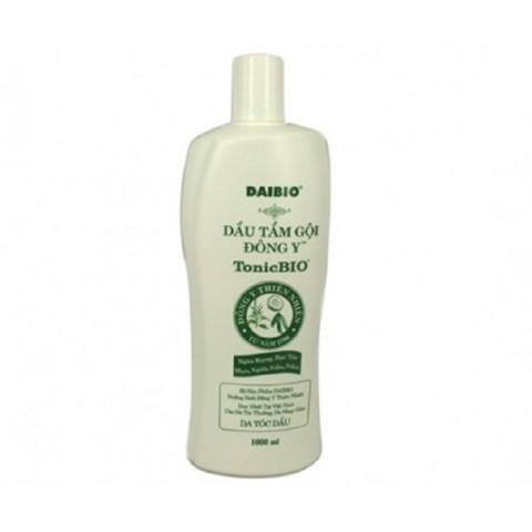 Dầu tắm gội đông y TonicBIO 1000ml (da dầu, tóc dầu)-Thế giới