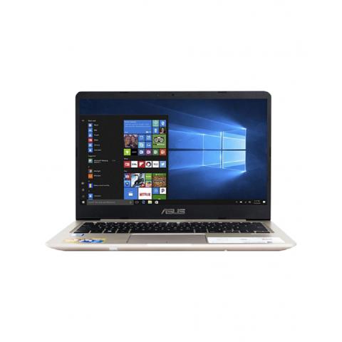 Máy xách tay/ Laptop Asus S410UA-EB633T (i3-8130U) (Vàng đồng)