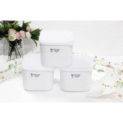 Hộp nhựa đựng thực phẩm White Pack 1L-Thế giới đồ gia dụng HMD