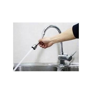 Vòi rửa bát tăng áp xoay 360 độ-Thế giới đồ gia dụng HMD