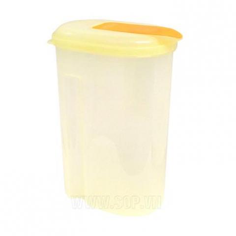 Bình nước 2L nắp màu cam-Thế giới đồ gia dụng HMD