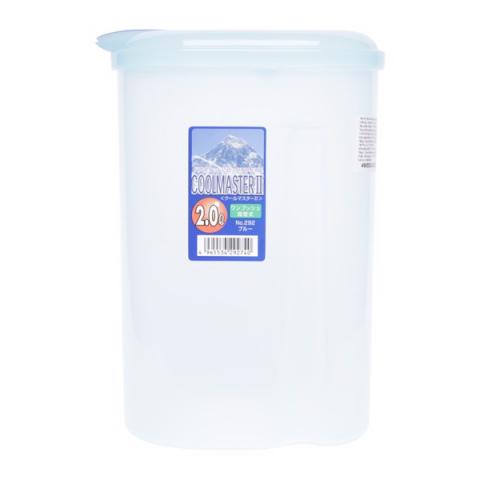 Bình nước 2L nắp màu xanh-Thế giới đồ gia dụng HMD