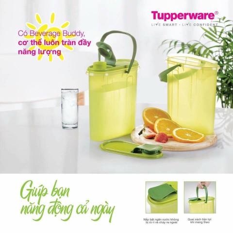 Bình Nước Tupperware Beverage Buddy-Thế giới đồ gia dụng HMD