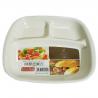 Đĩa ăn 3 ngăn dành cho bé ăn dặm-Thế giới đồ gia dụng HMD