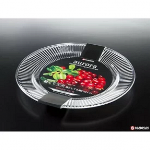 Đĩa tròn Auroma màu trắng trong-Thế giới đồ gia dụng HMD