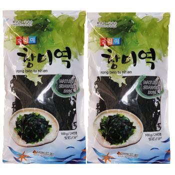 Rong biển tự nhiên Hàn Quốc GARIMI 100G-Thế giới đồ gia dụng HMD