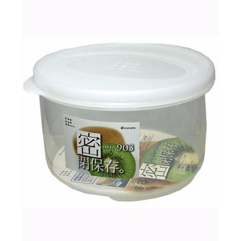 Hộp nhựa đựng thực phẩm hình tròn 830ml-Thế giới đồ gia dụng HMD