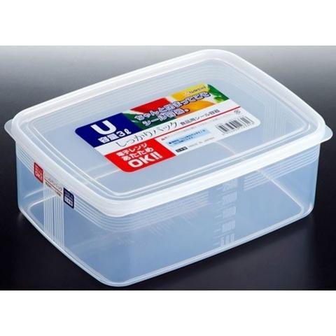 Hộp thực phẩm - Chữ nhật 3000ml-Thế giới đồ gia dụng HMD