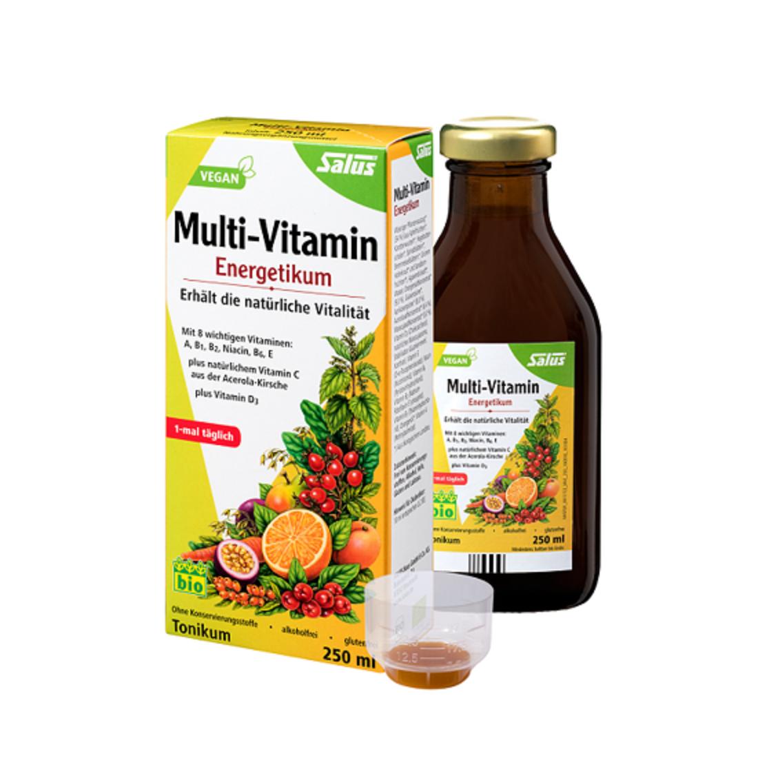 Dung dịch multi-vitamin tổng hợp hữu cơ Salus (250ml)-Thế giới
