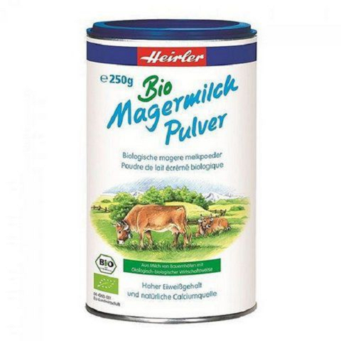 Sữa tươi Heirler dạng bột hữu cơ Bio (250g)-Thế giới đồ gia