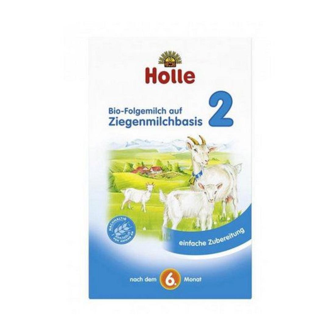Sữa dê công thức hữu cơ Holle 2 (400g)-Thế giới đồ gia dụng HMD