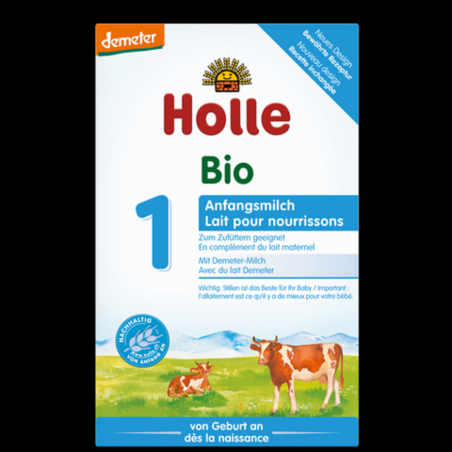 Sữa bò công thức hữu cơ Holle 1 (400g)