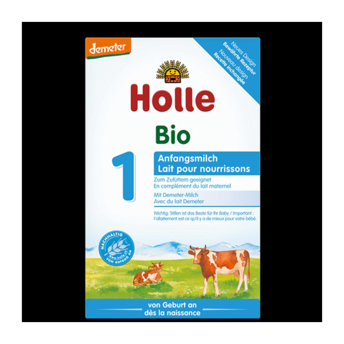 Sữa bò công thức hữu cơ Holle 1 (400g)-Thế giới đồ gia dụng HMD