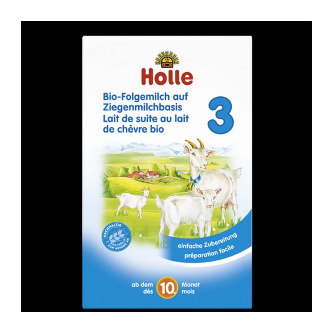 Sữa dê công thức hữu cơ Holle 3 (400g)-Thế giới đồ gia dụng HMD