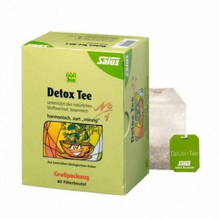 Trà thải độc hữu cơ Detox (No.1) Salus (72g)