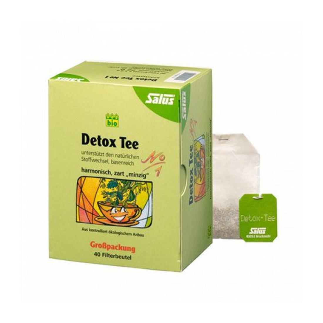 Trà thải độc hữu cơ Detox (No.1) Salus (72g)-Thế giới đồ gia