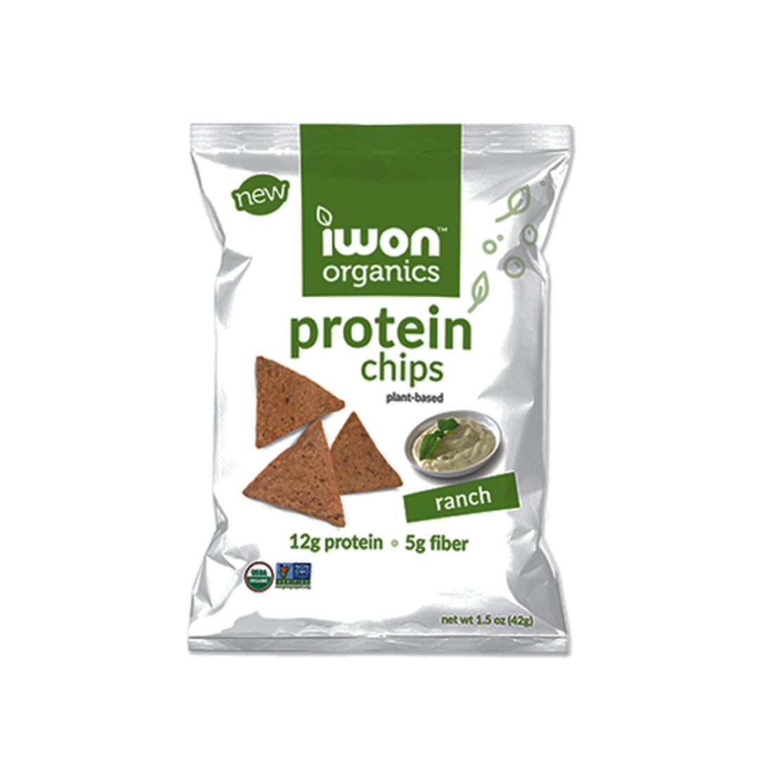Snack bổ sung protein hữu cơ Iwon (42g) vị phô mai-Thế giới đồ