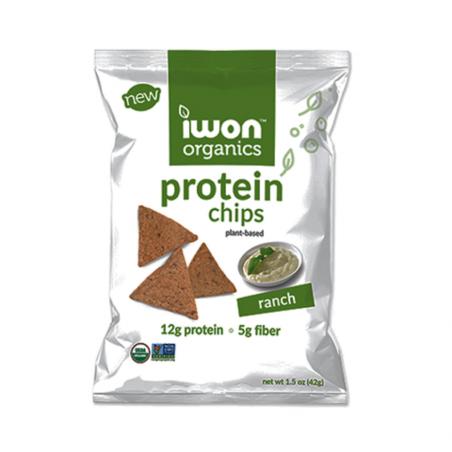 Snack bổ sung protein hữu cơ Iwon (42g) vị phô mai