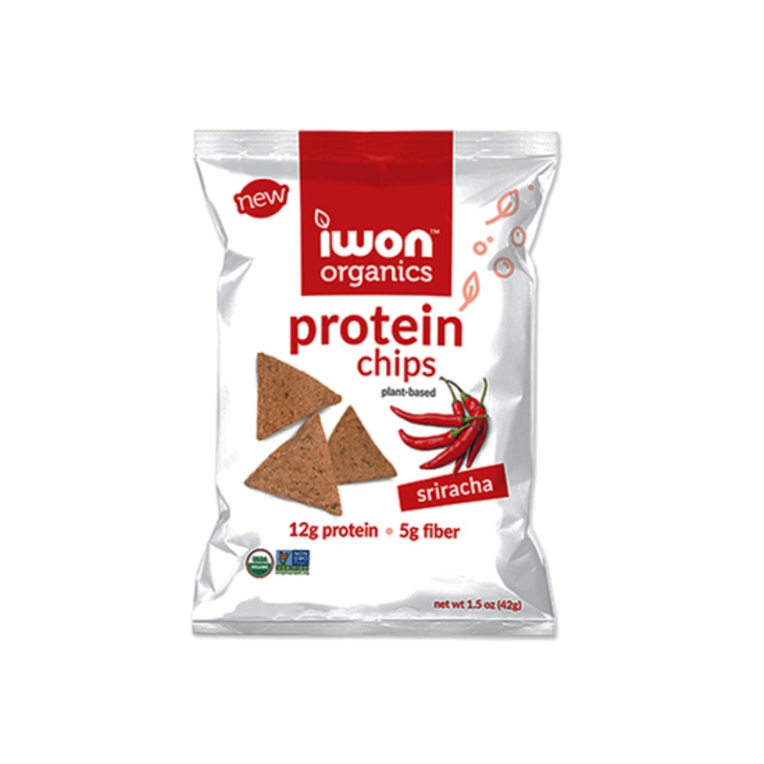 Snack bổ sung protein hữu cơ Iwon (42g) vị ớt Sriracha-Thế giới